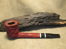 Rasted handcut pipes Canadian pipe, RH1059