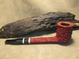 Rasted handcut pipes Canadian pipe RH1059