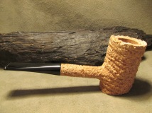 Rasted handcut pipes natural pipe RH1060 poker pipe