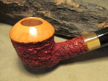 Rasted handcut pipes RH1061 rusticated pipe