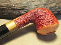 Rasted handcut pipes RH1061 rustikeret pibe