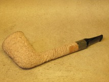 Rasted handcut pipes, RH1064 natural pipe (1)