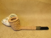 Rasted handcut pipes, RH1064 natural pipe (4)
