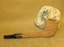 Rasted handcut pipes, RH1064 natural pipe (5)