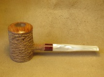 Rasted handcut pipes, RH1065 Poker pipe (11)