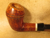 Rasted handcut pipes RH1081 Hexagon Pipe