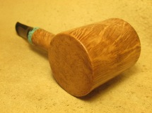 Rasted handcut pipes Smooth Poker Pipe (7)