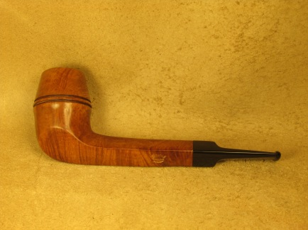 Rasted handcut pipes RH1085 Canadian Bull Dog Pipe (2)